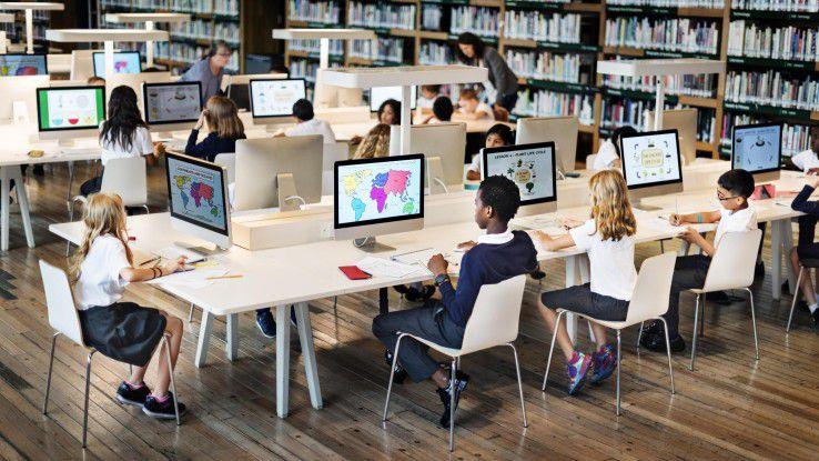 Der Stand der Digitalisierung sieht in vielen deutschen Bildungseinrichtungen noch anders aus.