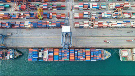 Die deutsche Exportwirtschaft zeigt sich von Handelkonflikten unbeeindruckt.
