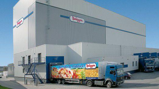 Hauptsitz des Cerealien-Herstellers Brüggen KG in Lübeck