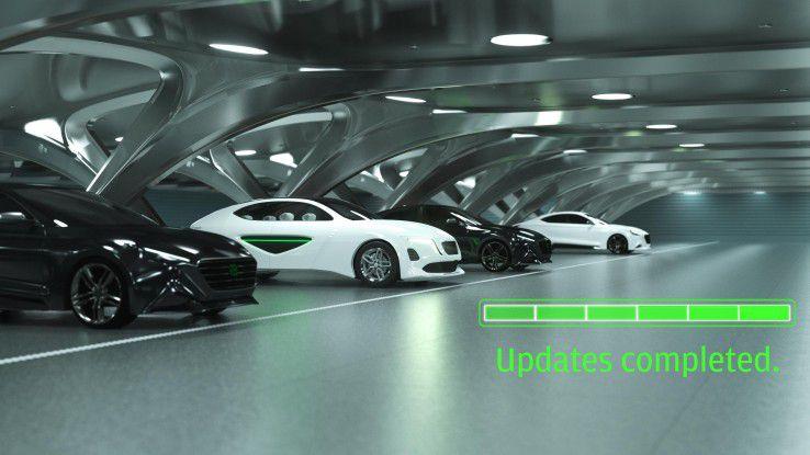 Updates sollen künftig drahtlos per Funk erfolgen, wenn das Fahrzeug etwa parkt.