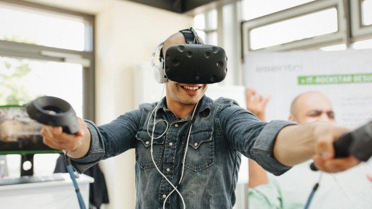 Um potenzielle Bewerber für sich zu begeistern, nutzt esentri ein individuell entwickeltes, speziell auf das Unternehmen zugeschnittenes VR-Spiel.