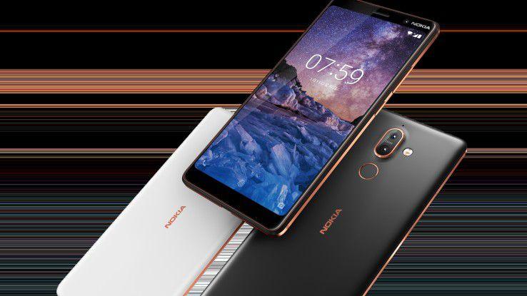 Zum besten Consumer Smartphone wählte die EISA-Jury das Nokia 7 Plus.
