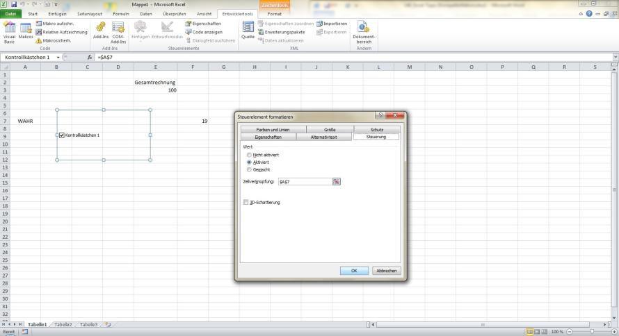 Office: Excel-Tabellen mit professionellen Steuerelementen erstellen ...