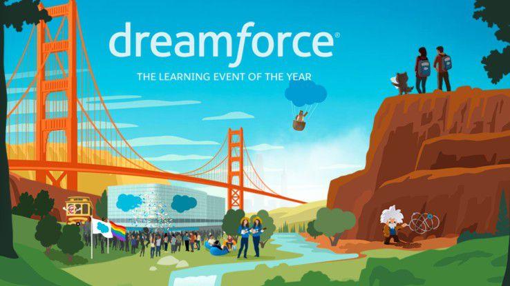 Über 170.000 Besucher erwartet Cloud-Spezialist Salesforce auf seiner Dreamforce-Konferenz.