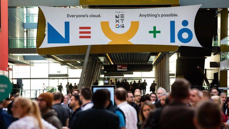 Mehr als 8000 Teilnehmer lockte Google auf seine Cloud-Konferenz Next nach London.