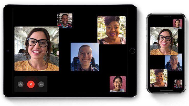Mit der Funktion Facetime Gruppengespräche können potenzielle Angreifer trotz Sperrbildschirm auf die Kontakte eines iOS-Geräts zugreifen.