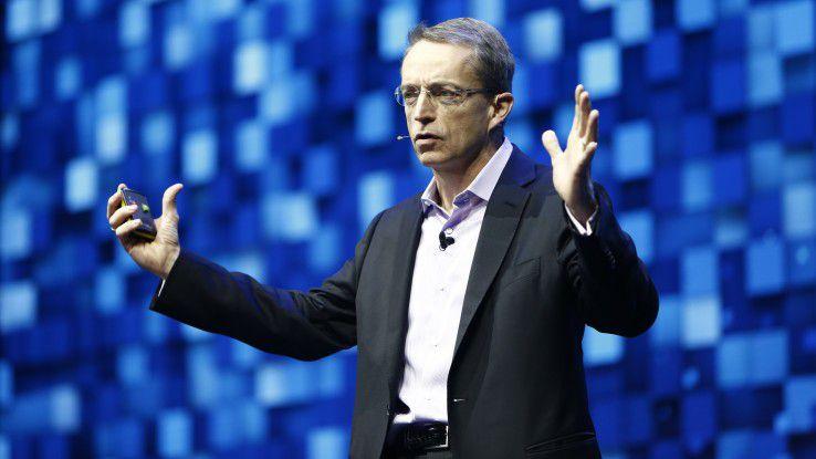 VMware CEO Pat Gelsinger präsentierte auf der VMworld 2018 Europe viele neue Zukunftstechnologien.