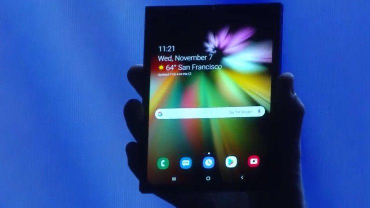 Das Infinity Flex Display von Samsung.