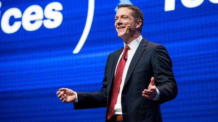"""Ein neues Buzzword ist geboren: Gartners Forschungschef Mike Harris propagiert """"ContinuousNEXT"""" als Strategie für einen kontinuierlichen Innovationsprozess."""