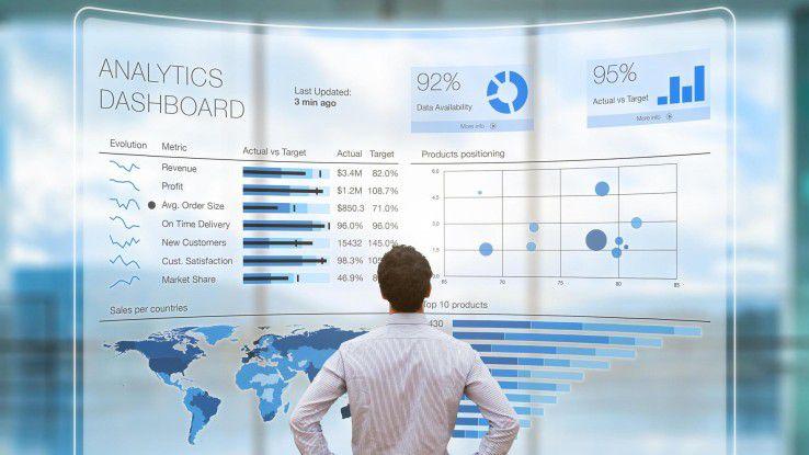 Wer die Wettbewerbsfähigkeit ausbauen und neue Geschäftsmodelle entwickeln will, benötigt zahlreiche Informationen.