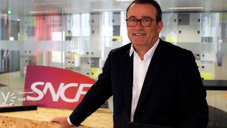 Benoit Tiers ist CDO und CIO bei SNCF und leitet die digitale Transformation.