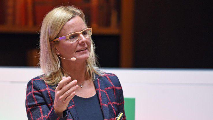 """""""Wir können auch als großes Unternehmen schnell, agil und flexibel arbeiten"""", sagt Annette Maier, Managing Director Google Cloud in der DACH-Region."""