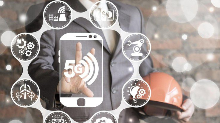 5G eröffnet der Industrie neue Lösungen für die Industrie 4.0 und die Vernetzung von Maschinen in der Produktion.