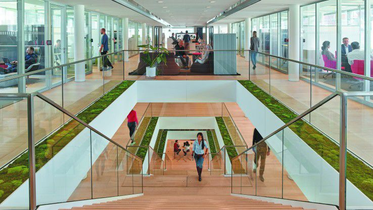 Ein Blick ins Steelcase LINC in München.