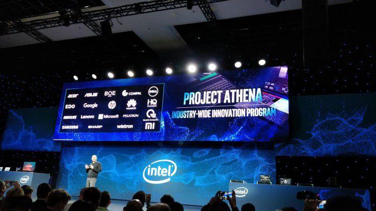 Die Intel-Verantwortlichen nutzten die diesjährige CES-Bühne, um erste Details ihrer Athena-Initiative zu präsentieren.