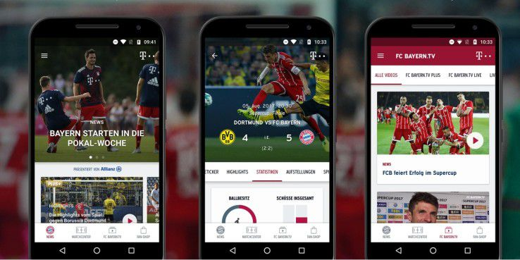 FC-Bayern-App mit neuer AR-Funktion
