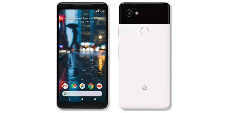 Das hauseigene Pixel 2 XL eignet sich laut Google gut für den Unternehmenseinsatz.