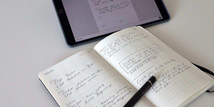 Der Smart Planner ist ein Terminplaner für den Pen+. In Zusammenarbeit mit der Moleskine Notes-App werden die Papiereintragungen, in den iOS-Kalender eingetragen.