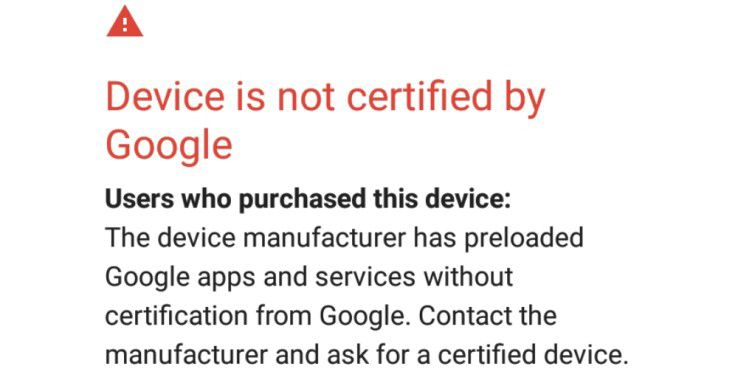 Google blockiert die eigenen Dienste auf Geräten mit Custom-ROMs.