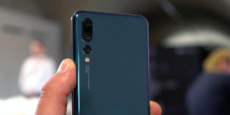Triple-Kamera von Leica im Huawei P20 Pro