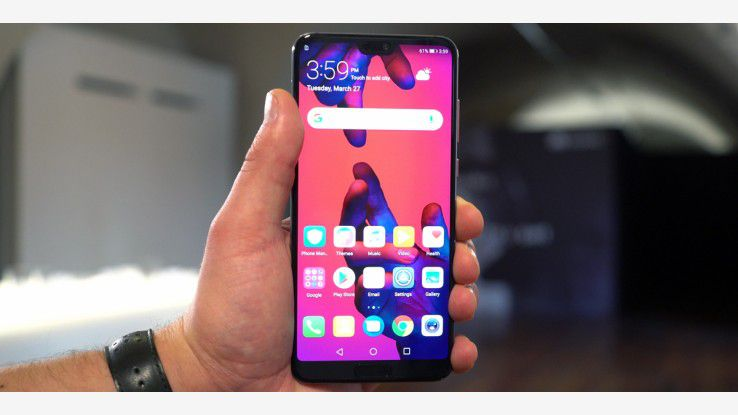 Hands-On: Huawei P20 Pro mit Triple-Cam und iPhone X-Display