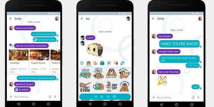 Google Allo: Der 2016 vorgestellte Messenger wird vorerst nicht weiterentwickelt.