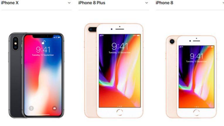 Wir zeigen Ihnen die relevanten Unterschiede zwischen iPhone 8, iPhone 8 Plus und iPhone X.