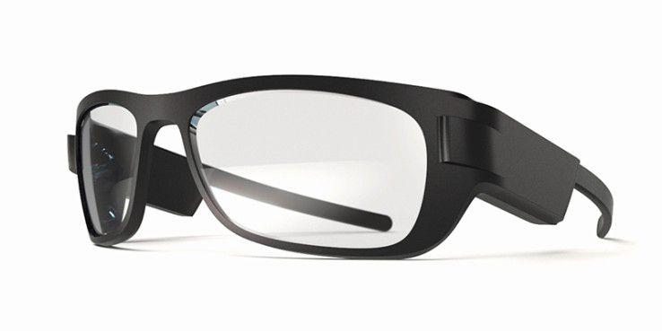 Zeiss Smart Optics stellte seinen Datenbrillen-Prototyp auf der MWC 2016 vor.
