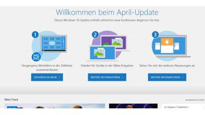 Windows 10 April-Update: Update für Einfrier-Probleme erscheint am 8. Mai