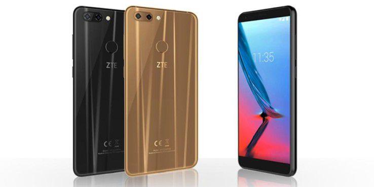 ZTE Blade V9: Neben Chips für neue Smartphones umfasst das Lieferverbot möglicherweise auch Software-Updates.