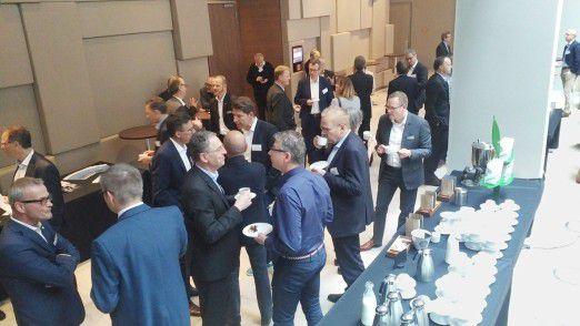 Im Mittelpunkt stand für die rund 100 Teilnehmer wie immer das Netzwerken mit den Kollegen aus anderen Unternehmen.
