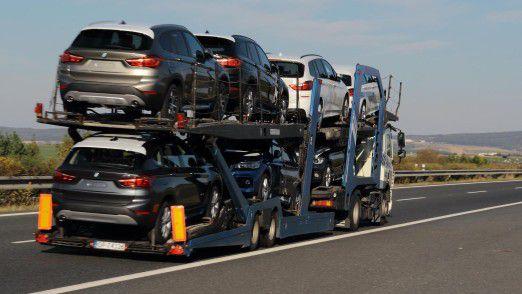 US-Präsident Trump stört sich an der großen Zahl importierter europäischer Fahrzeuge.