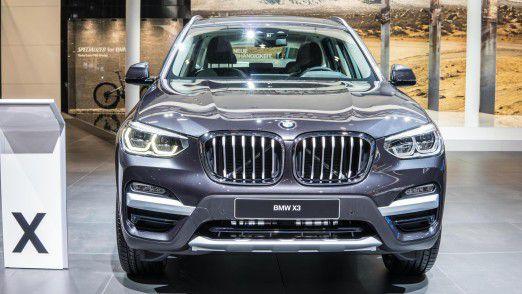 Nicht von Importzöllen betroffen: Der BMW X3. Das Modell rollt seit Mai - eigens für den chinesischen Markt - im Werk Shenyang vom Band.