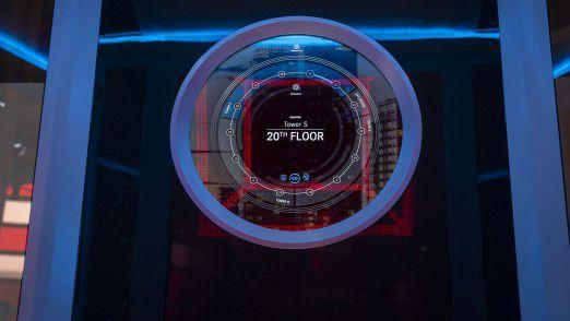 Der digitale Aufzug von Thyssenkrupp – vernetzt von Vodafone.