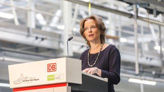 Birgit Bohle, aktuell Vorsitzende der DB Fernverkehr AG