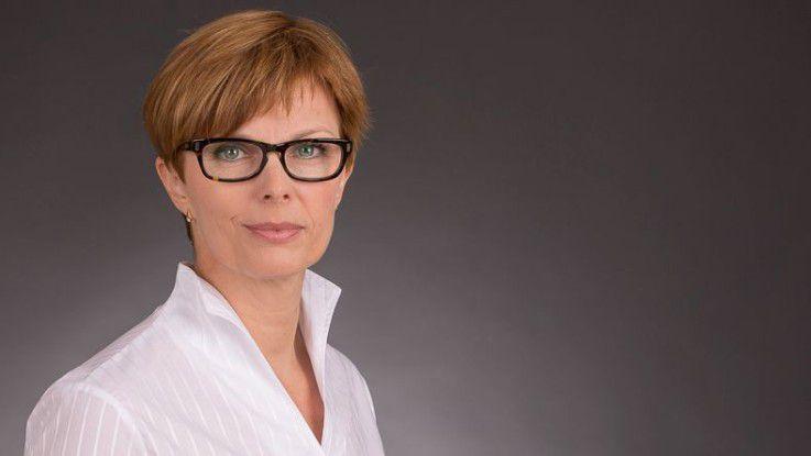 Ingrid Schwarz leitet die IT bei Terex Cranes.