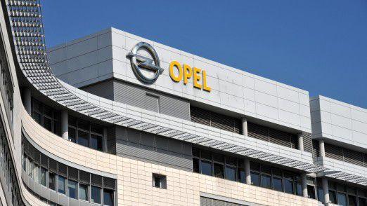 Opel-Hauptsitz in Rüsselsheim.