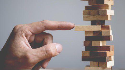 Zu viel Innovation kann Unternehmen schnell aus der Balance bringen.