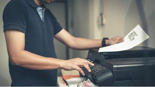 All-in-one-Printer könnten als Einfallstor für Hacker fungieren.