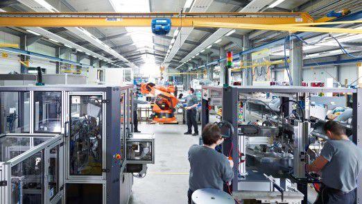 Die Hahn Group ist ein Spezialist für Automatisierungs- und Roboterlösungen.