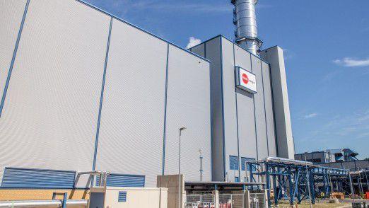 Heizkraftwerk Niehl 3. Es liefert Strom und Fernwärme für Köln und die Region.