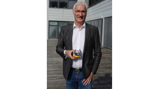 Jungheinrich-CIO Uwe Kolk packt das IT Service Management an.