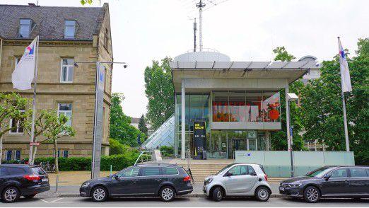 In Frankfurt am Main geht es um ein mögliches Fahrverbot für ältere Dieselfahrzeuge.