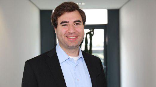 Gründungsgeschäftsführer Emanuel Issagholian.