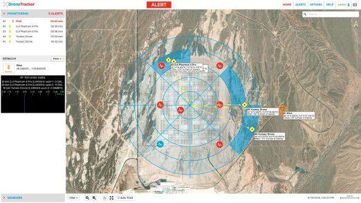 DroneTracker 3.5: Drohnenabwehr für Sicherheitskräfte.
