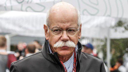 Dieter Zetsche tritt von der Daimler-Konzernspitze im Mai 2019 ab.