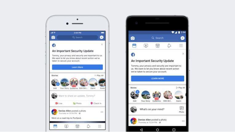 Unbekannte haben 50 Millionen Facebook Token gestohlen.