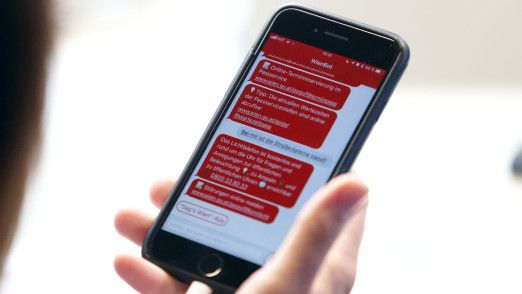 WienBot: Jetzt auch als App für iOS und Android.