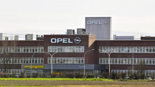 Opel-Standort in Rüsselsheim.