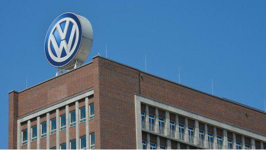 Volkswagen-Hauptsitz in Wolfsburg